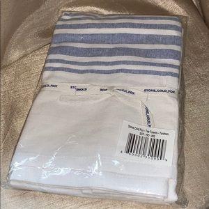 Stone cold fox tea towels new nwt
